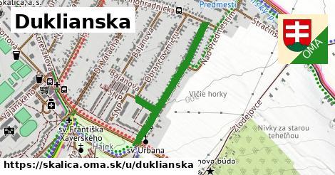 ilustrácia k Duklianska, Skalica - 677m