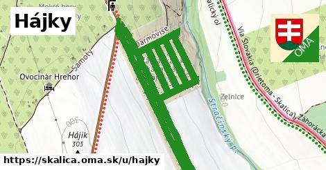 ilustračný obrázok k Hájky, Skalica