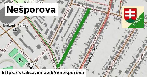 ilustrácia k Nešporova, Skalica - 332m