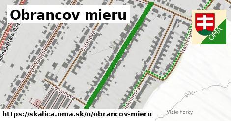 ilustrácia k Obrancov mieru, Skalica - 484m