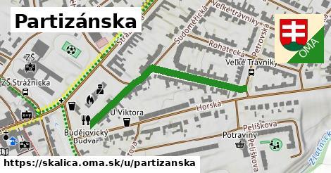 ilustrácia k Partizánska, Skalica - 447m