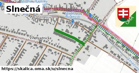 ilustrácia k Slnečná, Skalica - 178m