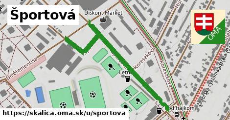 ilustrácia k Športová, Skalica - 534m