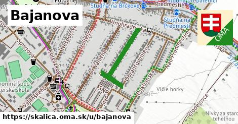 Bajanova, Skalica