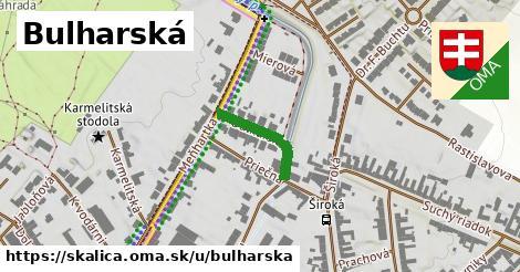 ilustrácia k Bulharská, Skalica - 160m