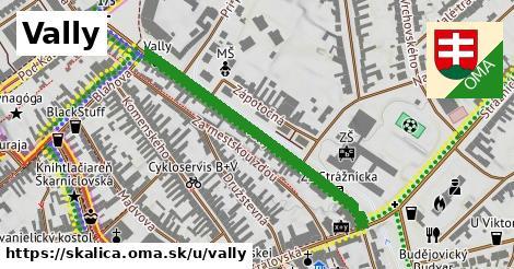 ilustračný obrázok k Vally, Skalica