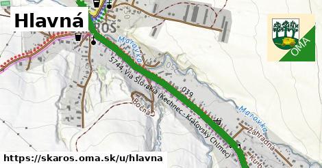 ilustrácia k Hlavná, Skároš - 1,37km