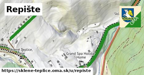 ilustrácia k Repište, Sklené Teplice - 517m
