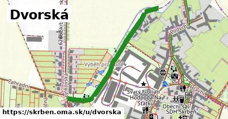 ilustrácia k Dvorská, Skrbeň - 540m