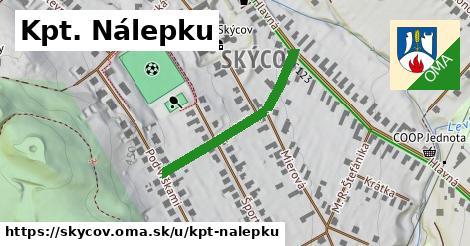 ilustrácia k Kpt. Nálepku, Skýcov - 302m