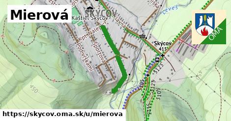 ilustrácia k Mierová, Skýcov - 461m