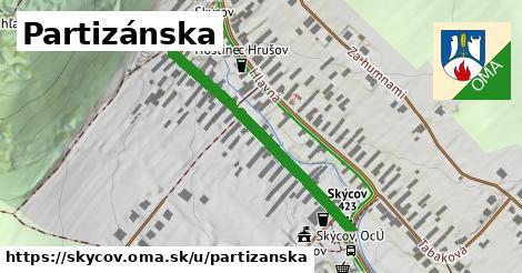 ilustrácia k Partizánska, Skýcov - 364m