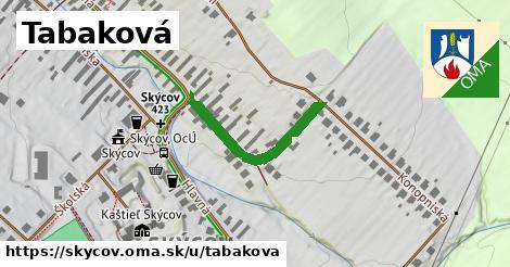 ilustrácia k Tabaková, Skýcov - 267m