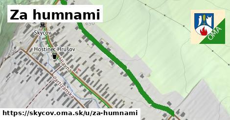 ilustrácia k Za humnami, Skýcov - 538m