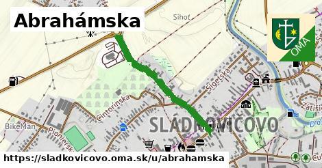 ilustrácia k Abrahámska, Sládkovičovo - 656m