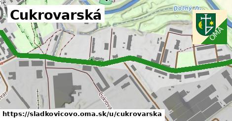 ilustrácia k Cukrovarská, Sládkovičovo - 1,19km