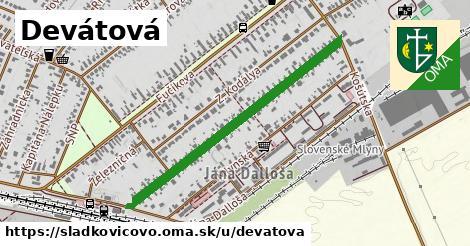 ilustrácia k Devátova, Sládkovičovo - 0,86km