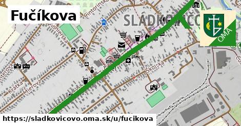 ilustrácia k Fučíkova, Sládkovičovo - 2,8km