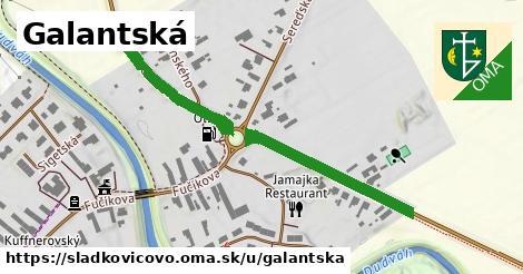ilustrácia k Galantská, Sládkovičovo - 1,19km