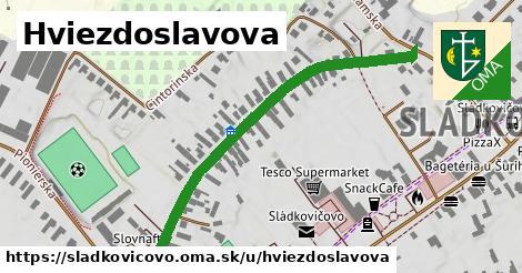 ilustrácia k Hviezdoslavova, Sládkovičovo - 595m