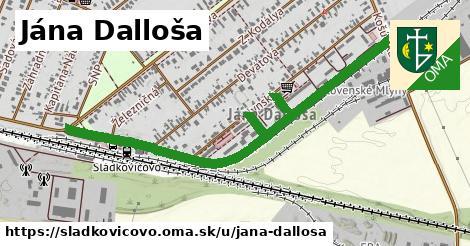 ilustrácia k Jána Dalloša, Sládkovičovo - 1,35km