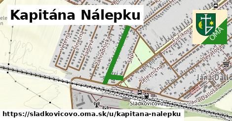 ilustrácia k Kapitána Nálepku, Sládkovičovo - 508m