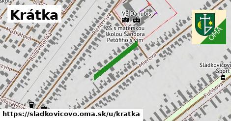 ilustrácia k Krátka, Sládkovičovo - 177m