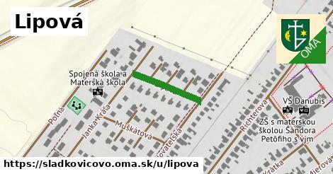 ilustrácia k Lipová, Sládkovičovo - 167m
