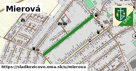 ilustračný obrázok k Mierová, Sládkovičovo