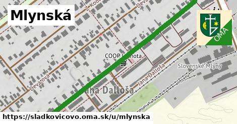 ilustrácia k Mlynská, Sládkovičovo - 0,77km