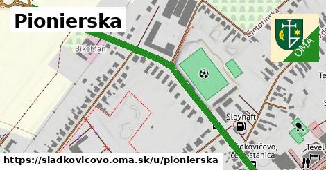 ilustrácia k Pionierska, Sládkovičovo - 0,75km