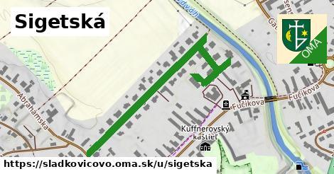 ilustračný obrázok k Sigetská, Sládkovičovo