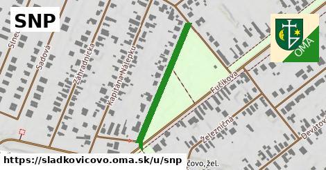 ilustrácia k SNP, Sládkovičovo - 310m