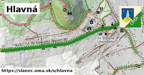ilustrácia k Hlavná, Slanec - 1,51km