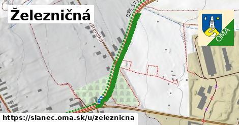 ilustrácia k Železničná, Slanec - 324m