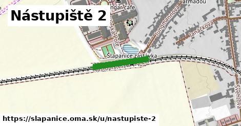 ilustrácia k Nástupiště 2, Šlapanice - 168m