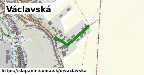 ilustrácia k Václavská, Šlapanice - 222m