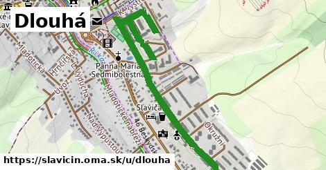 ilustrácia k Dlouhá, Slavičín - 1,25km