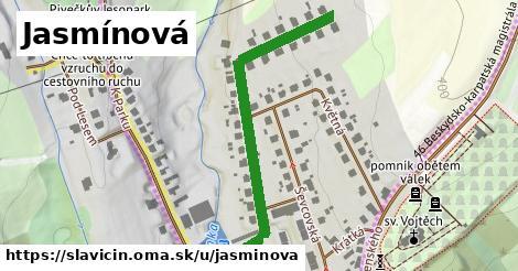 ilustrácia k Jasmínová, Slavičín - 508m