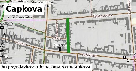 ilustrácia k Čapkova, Slavkov u Brna - 186m