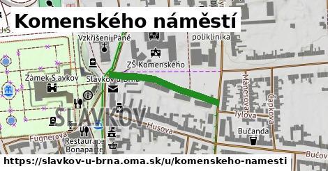 ilustrácia k Komenského náměstí, Slavkov u Brna - 256m