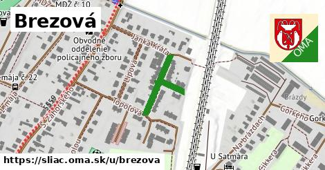 ilustračný obrázok k Brezová, Sliač