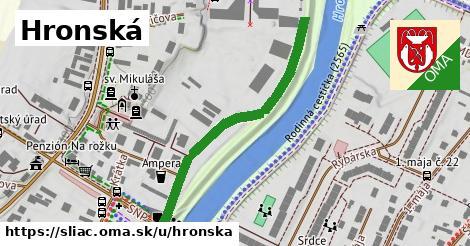 ilustrácia k Hronská, Sliač - 428m
