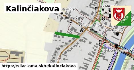 ilustrácia k Kalinčiakova, Sliač - 137m