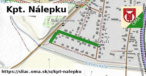ilustrácia k Kpt. Nálepku, Sliač - 284m