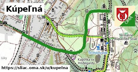 ilustrácia k Kúpeľná, Sliač - 1,33km