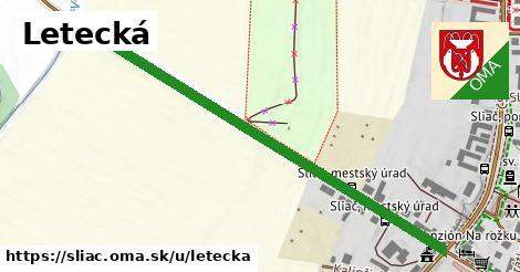 ilustrácia k Letecká, Sliač - 617m