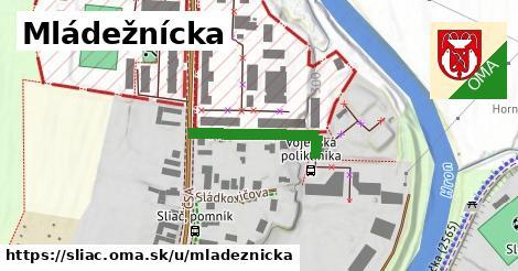 ilustrácia k Mládežnícka, Sliač - 217m