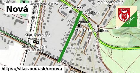 ilustrácia k Nová, Sliač - 293m