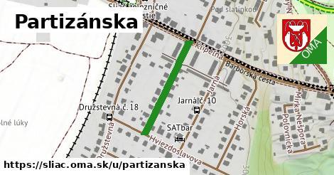 ilustrácia k Partizánska, Sliač - 232m